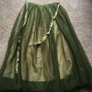 J Crew chiffon skirt